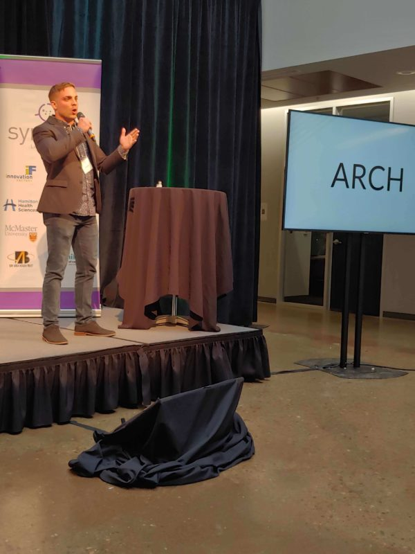 ARCH pitch - peoples choice winner at the big dif